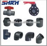 pvc sanitary pipes fittings/pvc pipe fitting/pvc ball check valve