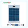 High power semi-flexible solar poly cell panel 30w