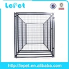 big welded wire panel warming dog house with cushion