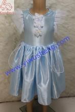 Wholesale short sleeve princess girl dresses,summer latest dress designs for flower girls