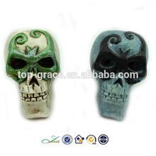2015 resin LED Halloween skull