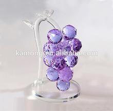 Elegant grape crystal craft for events