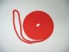 """3/8"""" X 10' NYLON DOUBLE BRAID DOCK LINE - red"""