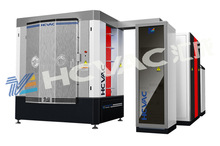 Black blue gold color pvd coating on stainless steel/pvd plasma coating machine