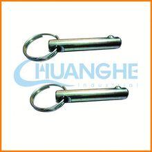 China fastener spring loaded pull ball lock pin