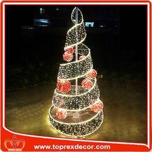 Led árbol de la bola de la decoración de palomas de carreras para la venta
