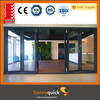 Guangzhou 3.0 aluminium commercial concertina folding doors
