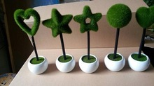 OOOH, So Lovely!!! Decorative letter characters in pot for decoration