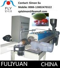 FLY-75 fruit net epe foam sheet making extruder machine, frui net foaming machine