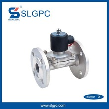 Flange Connection Water Media electric solenoid water valve 2 inch