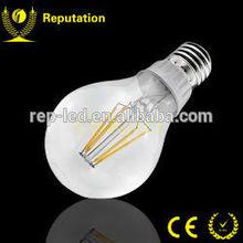 A60 LED filament bulb COB 360 degree beam angle filament led bulb