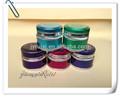 serie colorate cosmetici vasetto di crema vuoto