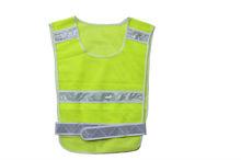 2014 new design hi visibility yellow mesh safety vest