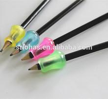 hand protection handguard hot silicone pencil grip pen sleeve pen loop pen holder