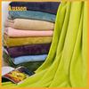 hot sale super soft flannel 100 polyester sports fleece blanket