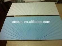 American casket panel and casket lid