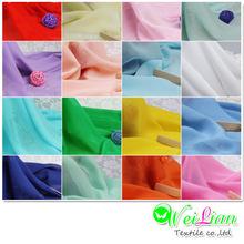 Polyester georgette garments fabric/chiffon fabric wholesale