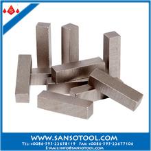 Sandwich type china diamond segments stone/concrete/asphalt cutting