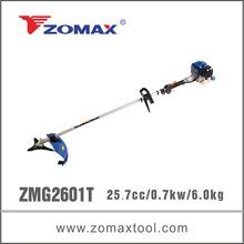 ZMG2601T 2-stroke 26cc bike handle brush cutter small air tank