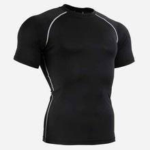 OEM Service Supply Type and polyester spandex Material sports mma rash guard