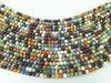 cheap price semi-precious stone round beads strand