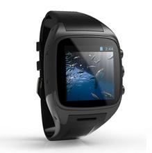 mtk6577 smart watch phone 5.0MP camera, GPS, 3G and WIFI