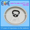 Brunei lechedecoco 206 rpt( 57mm) de plástico puede fácil extremo abierto/tapa