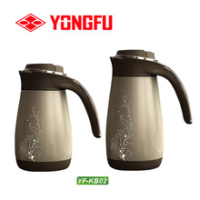 Fashion designed cap and handle, stainless steel vacuum pour over Coffee Pot.