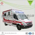 Mercedes benz sprinter524 caja tipo ambulancia, móvil de ambulancia uci, médico del automóvil,
