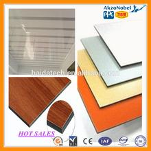 CE certificate outdoor wall decor aluminum conposite panel building material