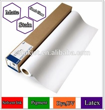 "44"" waterproof pre printed matte coated canvas roll / pure cotton canvas"