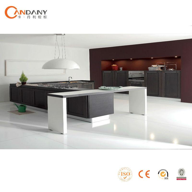 Neueste design küchenschrank mit blum küche zubehör, rot und ...
