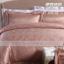 Satin silk jacquard Europe style pillowcase made in China
