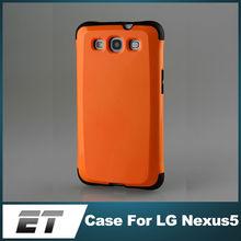 High quality slim tough armor cellphone case for nexus 5