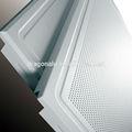 60*60cmaluminium falso techo de material de decoración