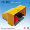 2 step metal push button switch / waterproof push button foot switch / tattoo power supply foot switch