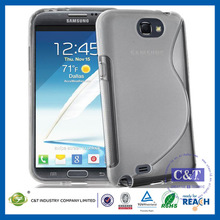 C&T TPU Full Cover Protective Case for Samsung Galaxy Note 2 N7100