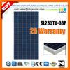 285W solar panel, solar module, QXPV SOLAR