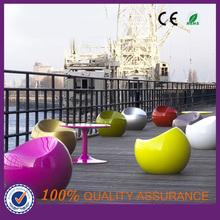 modern fiberglass garden tomato chair & bar & hotel tomato chair