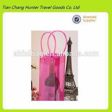 hot sale wholesale pvc wine bag