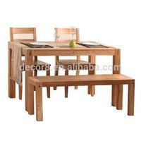 Oregon Solid Wood Oak Dining Table