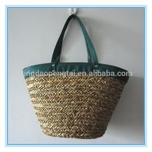 2014 fashion wholesale beach straw bag
