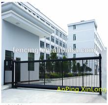 sliding iron main gate design(Factory)