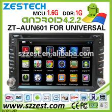 "ZESTECH 2014 newest 6.2"" indash dvd headunit sat nav gps navigation Universal Android car head unit"