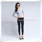 high waist pencial pants,legging jeans for ladies