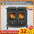 2014 insert style customized antique wood burning stove