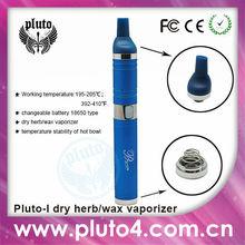 Wax chamber vaporizer 2014 Pluto 1 vape pen 3 in 1 vaporizer