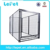 2014 new welded panel galvanized or pvc coated welded pet dog cage factoryiso14001