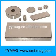 N52 Neodymium magnet/ strong sintered ndfeb magnet