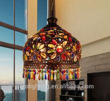 Creative Mediterranean Colored Acrylic Living Room Pendant Light